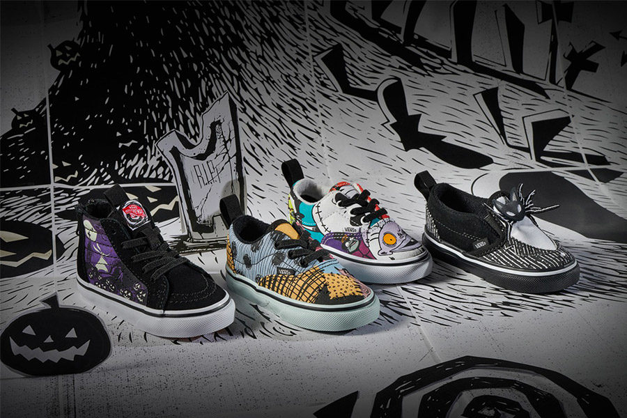 Vans dévoile sa collection L'Etrange Noël de Monsieur Jack