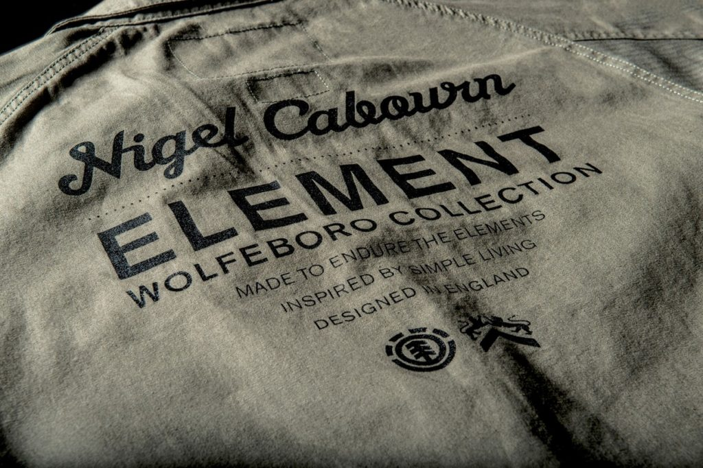 Collaboration Element x Nigel Cabourn