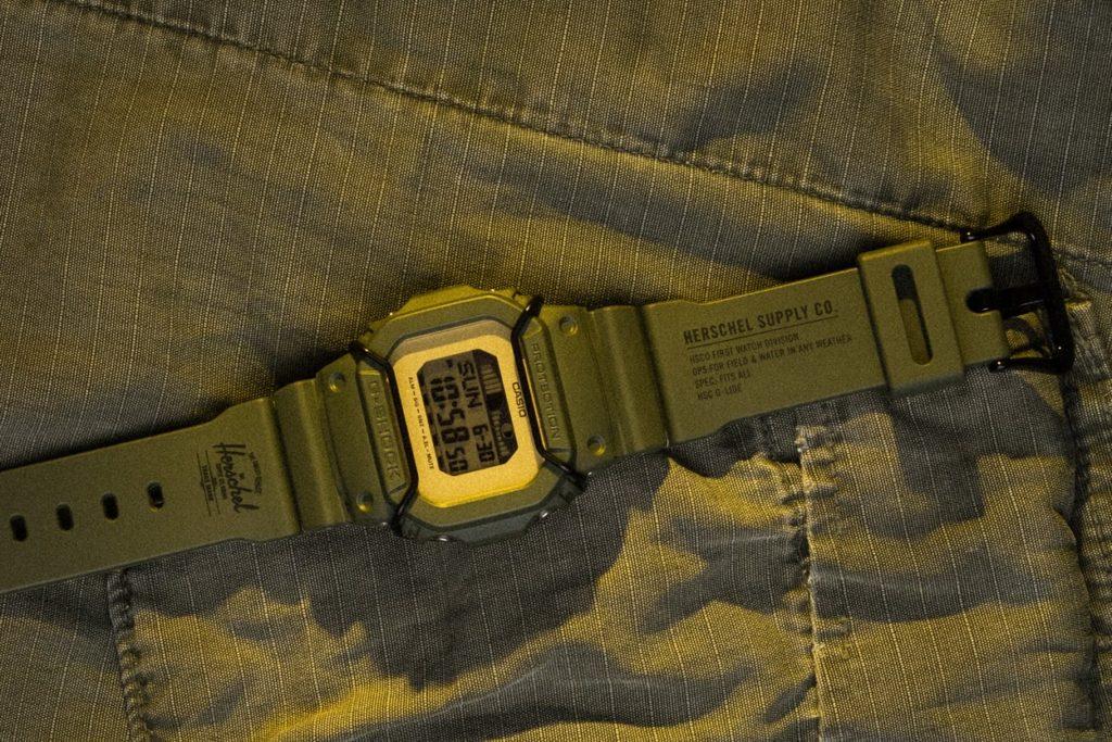Herschel x G-Shock G-Lide