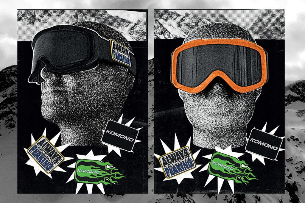 KOMONO présente son premier masque de Ski