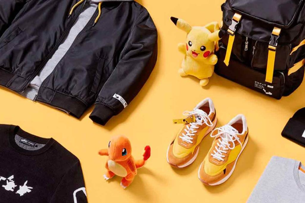 Collection capsule inédite Pokémon by celio*