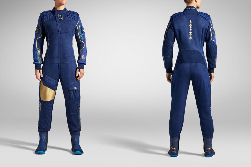 Under Armour dévoile les vêtements techniques spatiaux pour Virgin Galactic