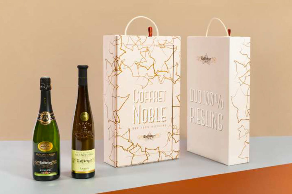 Wolfberger - Coffret Noble Duo 100% Riesling