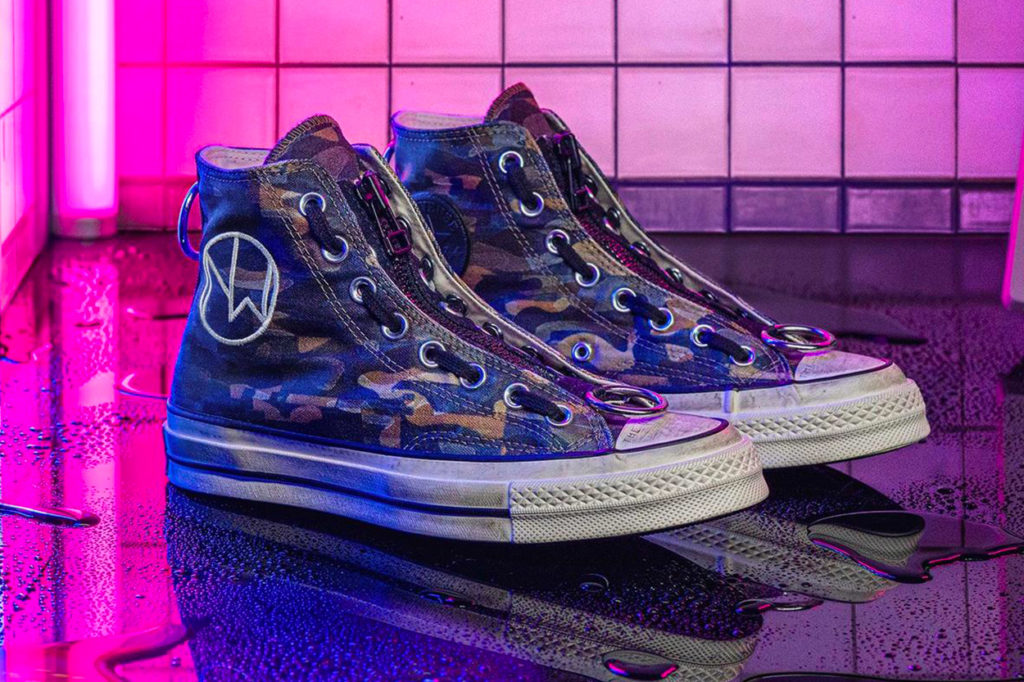 "Converse x UNDERCOVER ""The New Warriors Camo"" Pack"