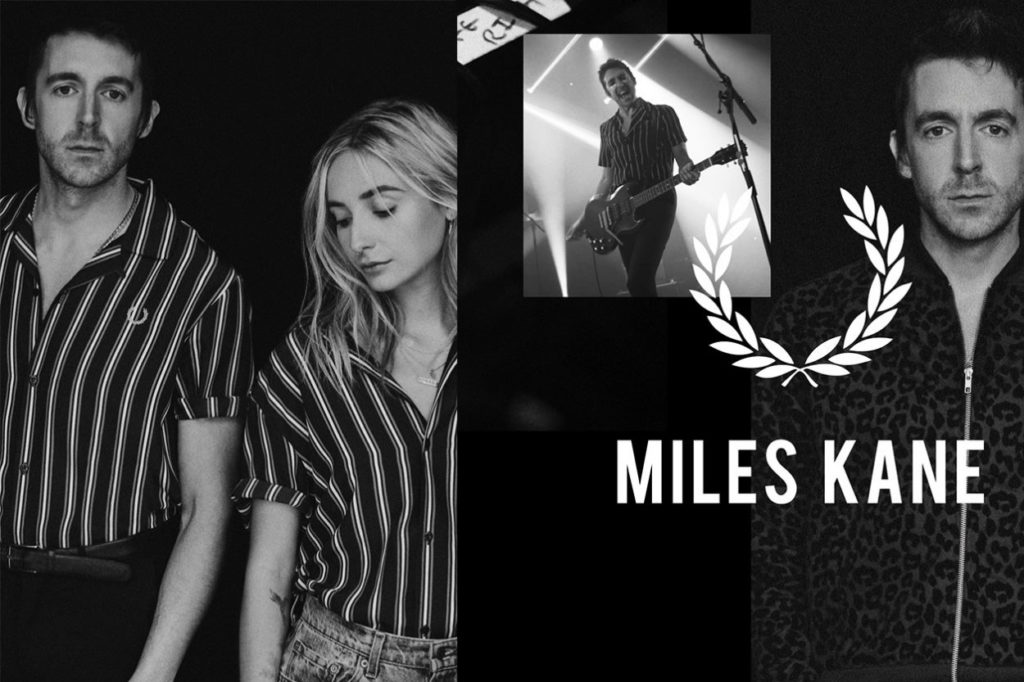 Collection capsule Fred Perry x Miles Kane Automne/Hiver 2019
