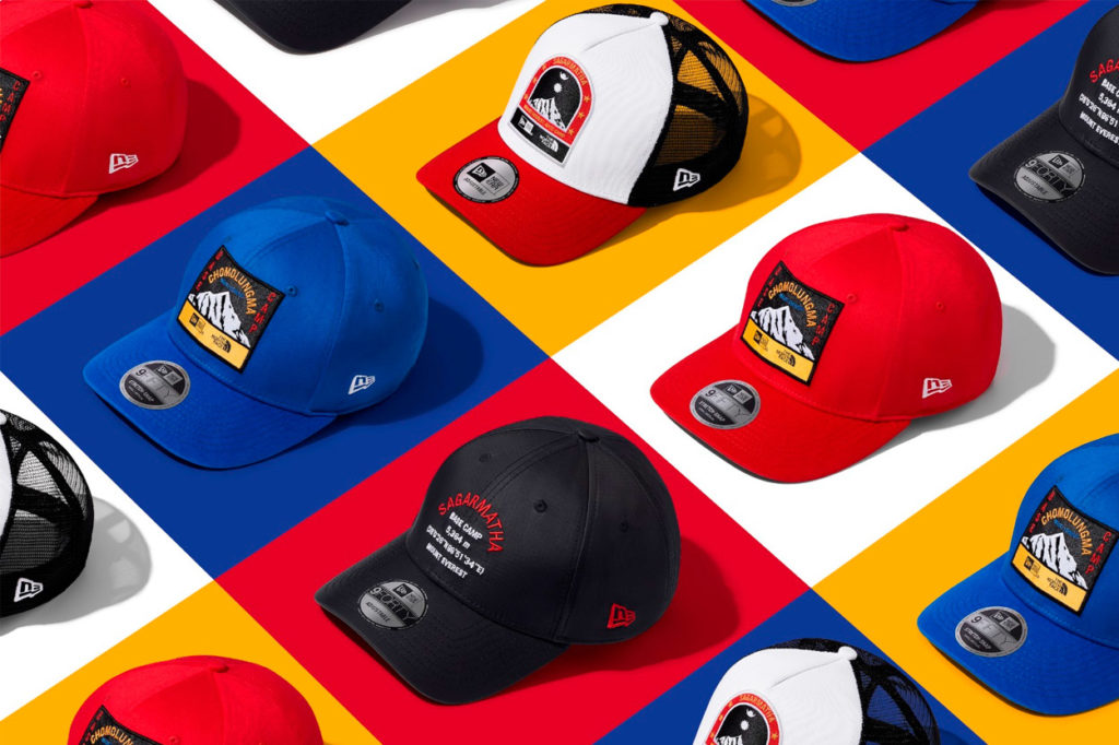 Collection Expédition New Era x The North Face