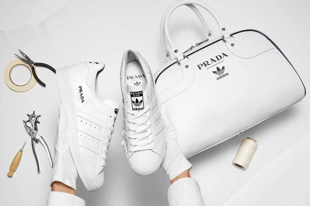 Prada et adidas dévoilent la première étape de leur partenariat