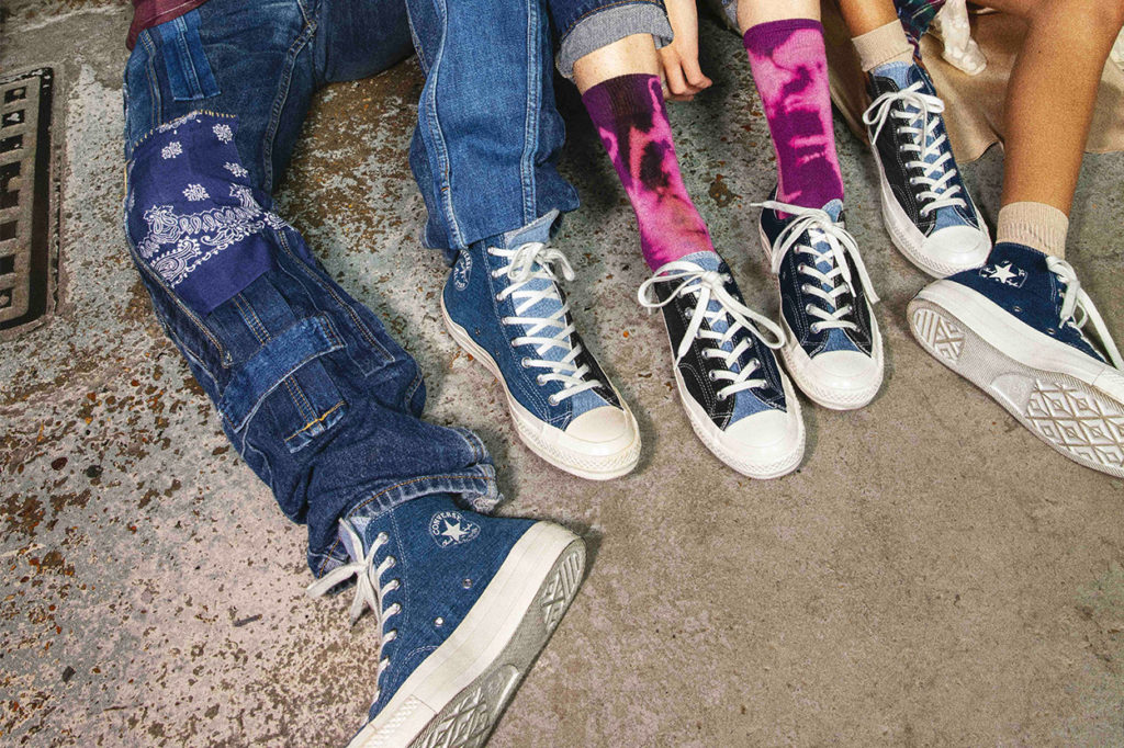 Collection Converse Renew Denim Tri-Panel Chuck 70