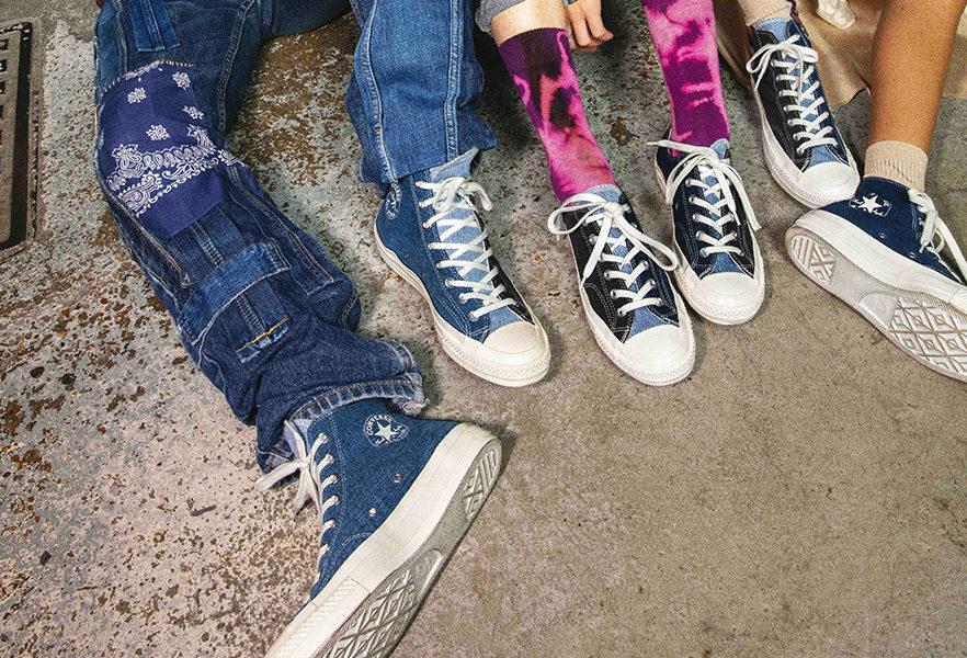 Collection Converse Renew Denim Tri Panel Chuck 70 | Viacomit