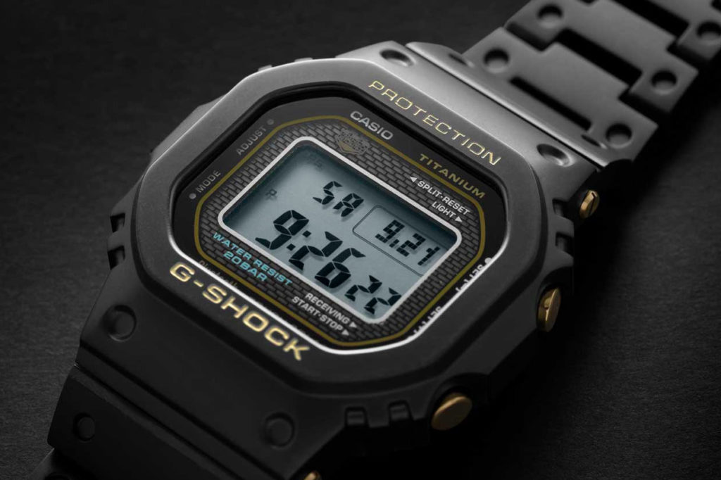 G-Shock GMW-B5000TB Titane