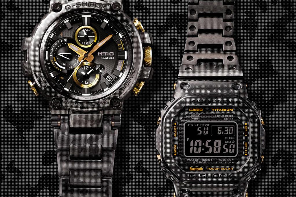 G-Shock édition limitée la MTG-B1000DCM & GMW-B5000TCM