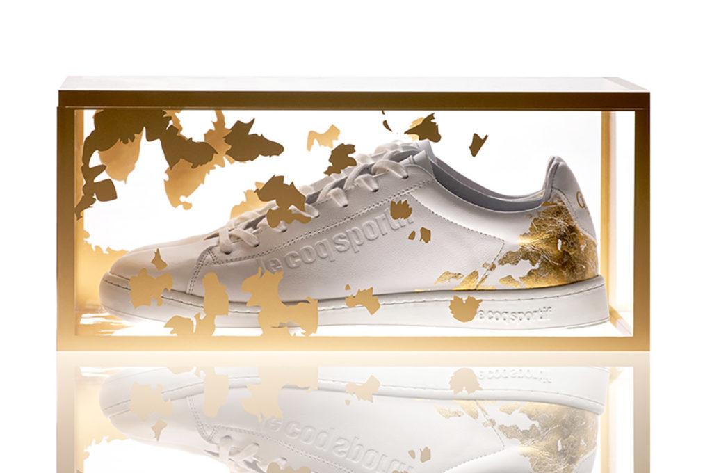 Le coq sportif x Opéra de Paris : une sneakers 22 carats pour les 350 ans de l'Opéra de Paris