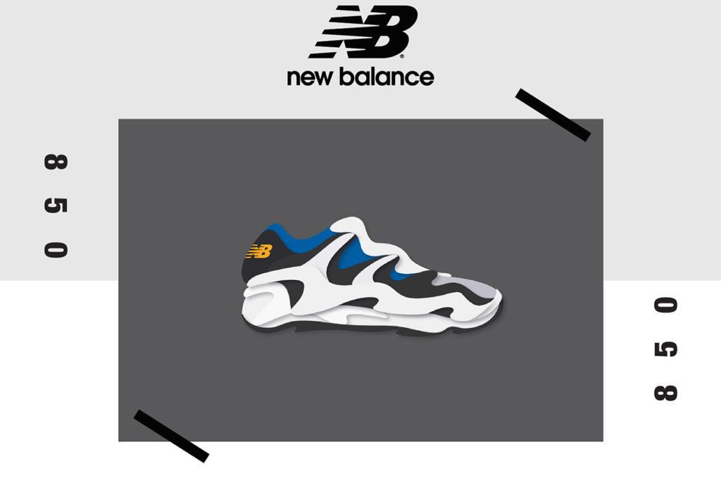 New Balance relance officiellement le modèle 850