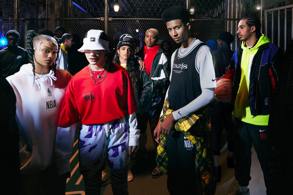 Nike Basketball NBA Paris Collection