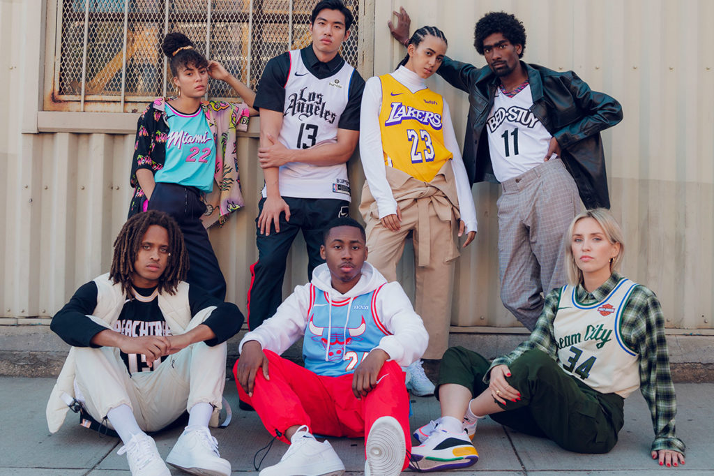 Nike x NBA City Edition saison 2019/2020