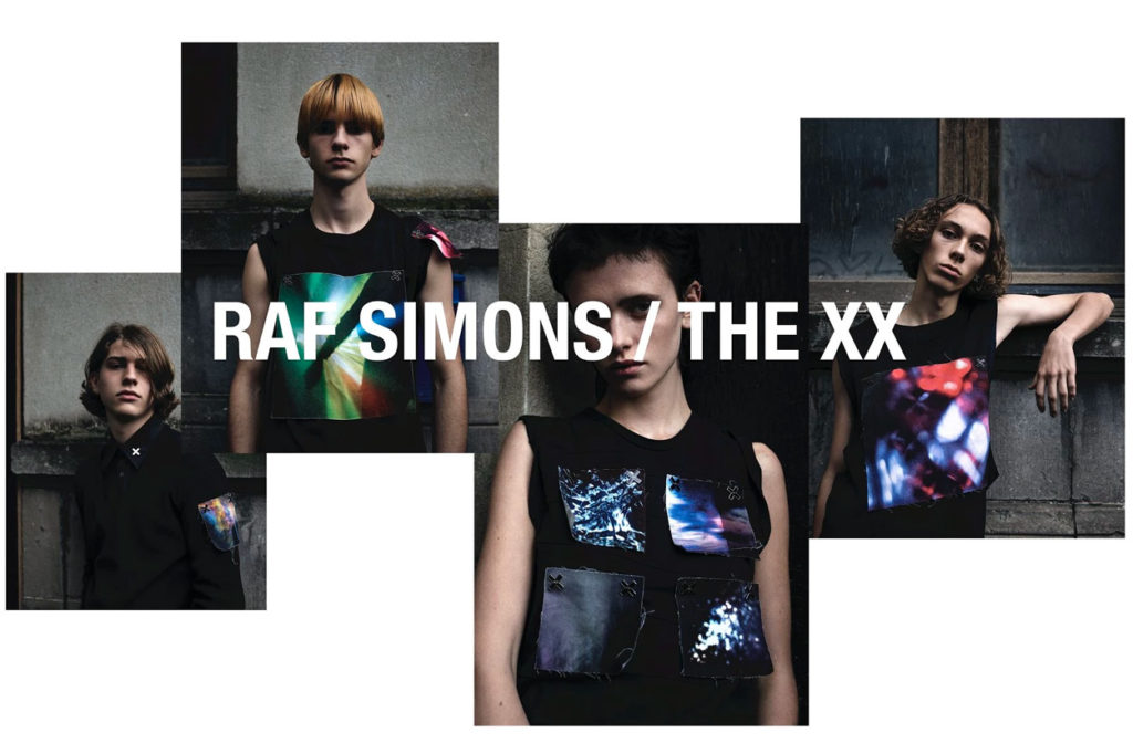 Raf Simons x The xx
