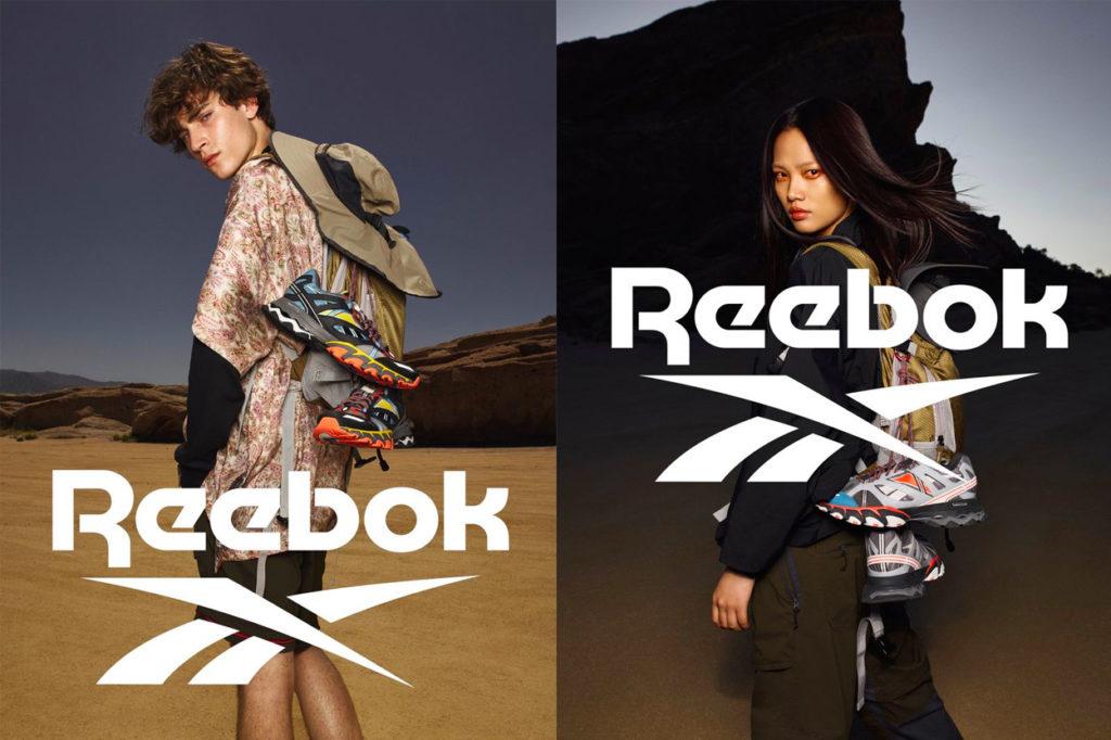 Campagne Reebok DMX Trail Shadow