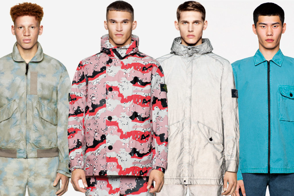 "Stone Island ""Icon Imagery"" Printemps/Été 2020"