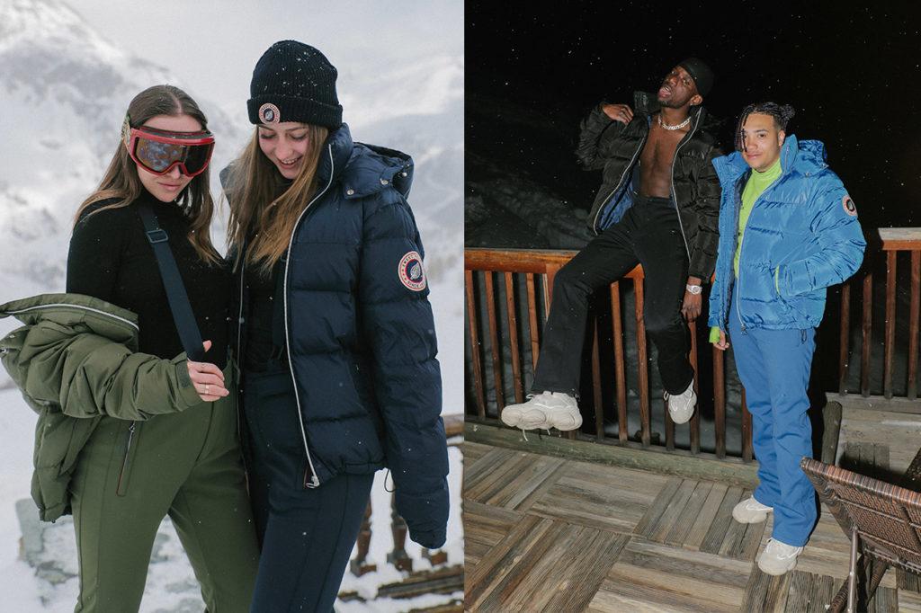 Sweet Pants lance son premier vestiaire ski