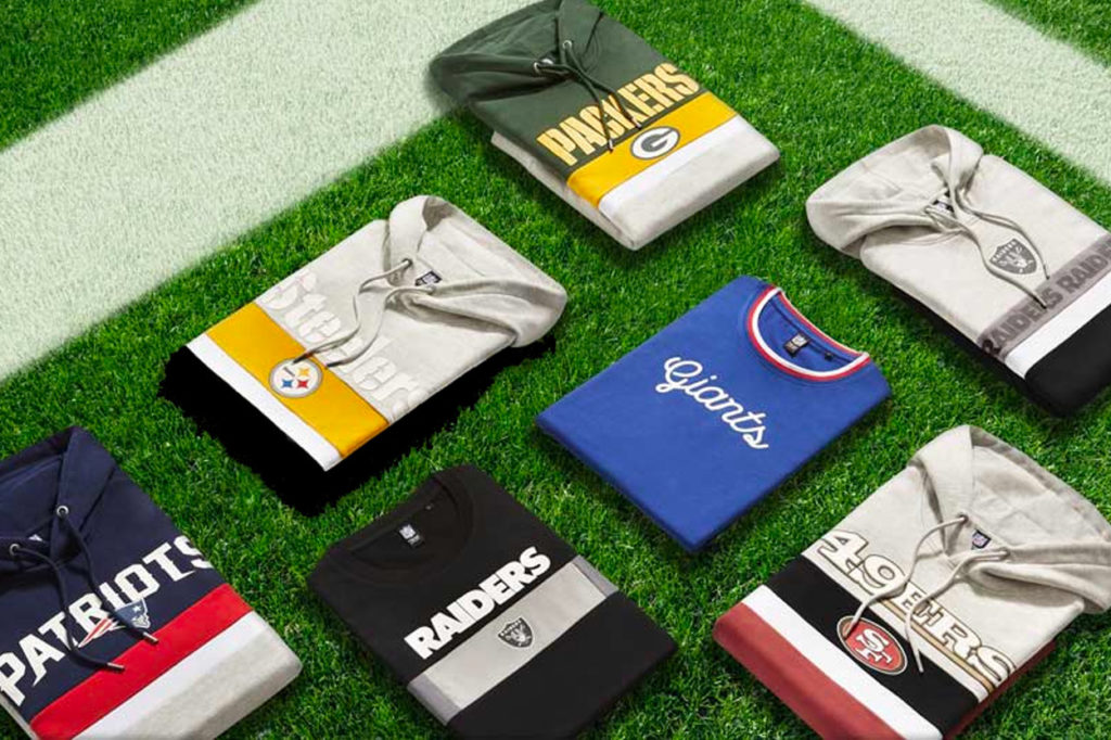 Collection capsule exclusive NFL x celio*