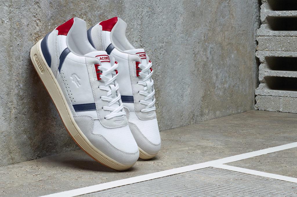 Sneakers LACOSTE T-Clip Printemps/Été 2020
