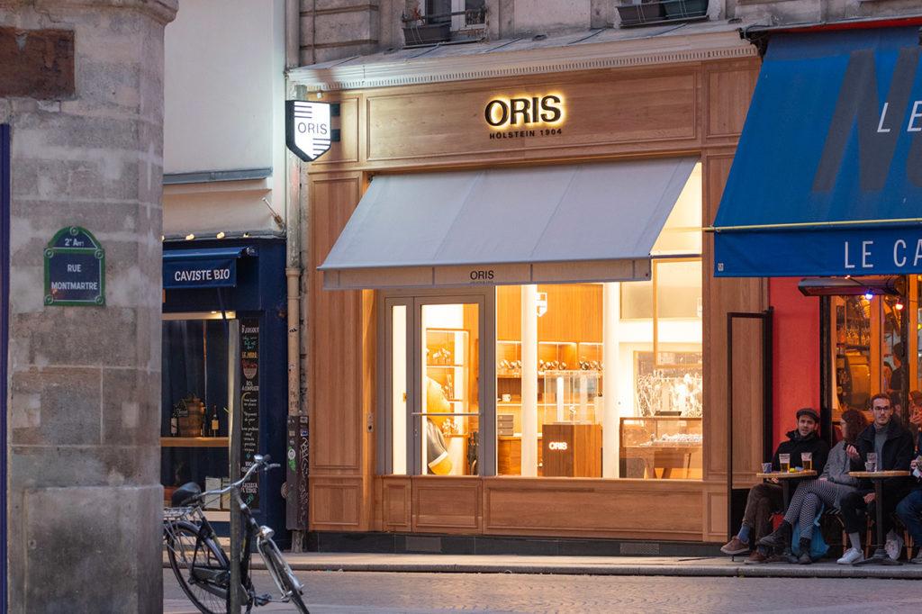 Oris ouvre sa première boutique en France