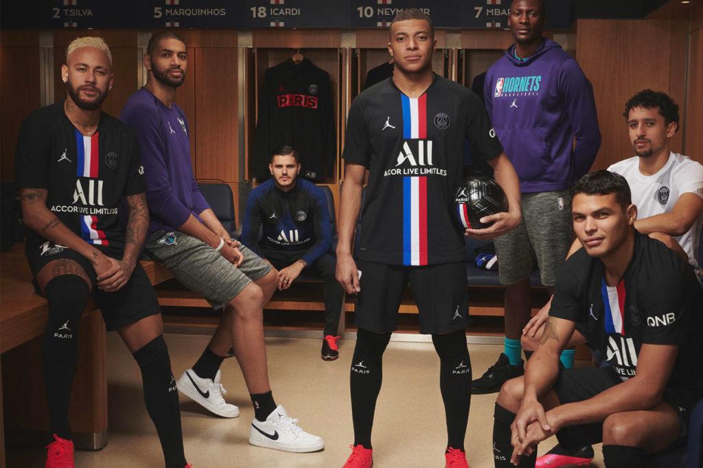Dernier maillot Jordan Brand x Paris Saint-Germain