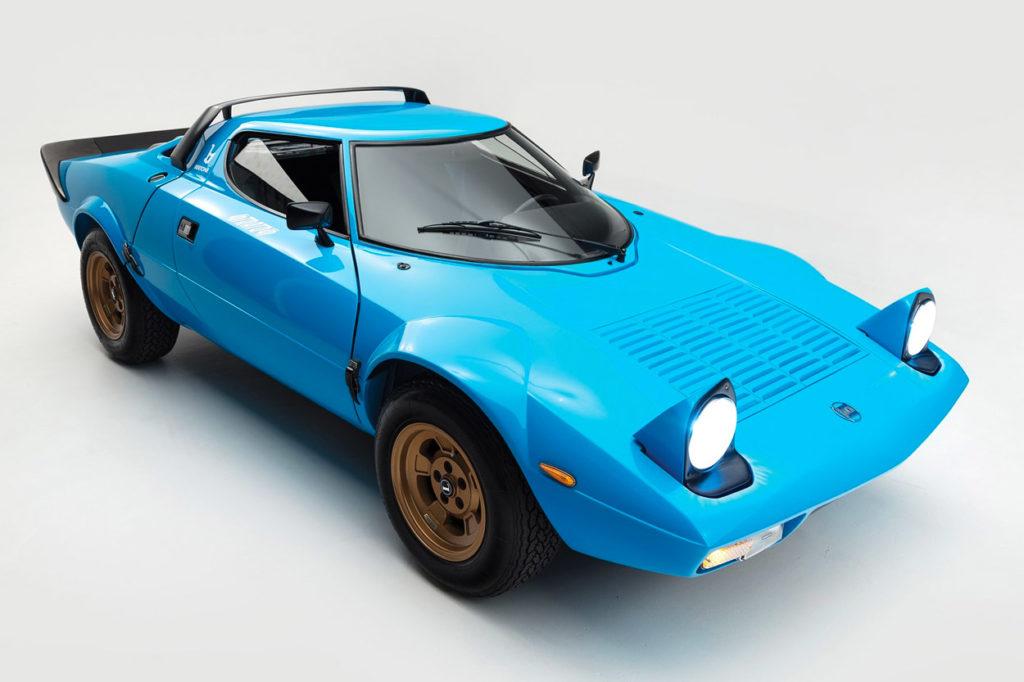 Lancia Stratos HF Stradale de 1975 signé Bertone