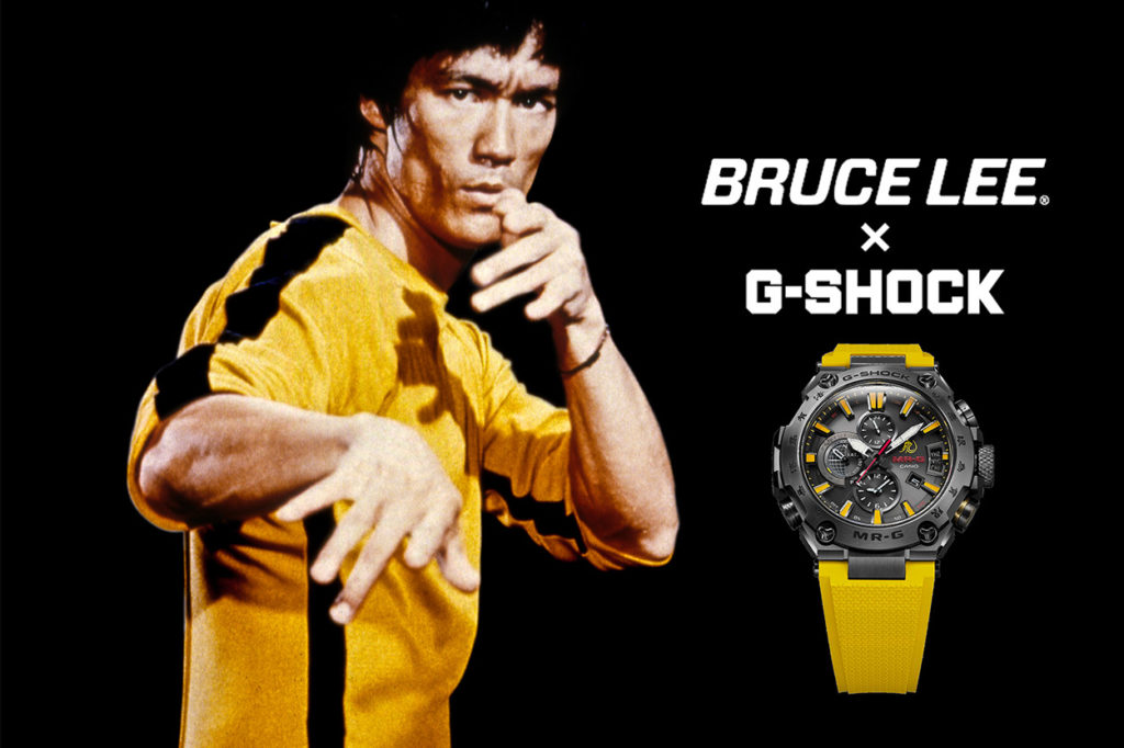 Bruce Lee x G-Shock MRG-G2000BL-9A