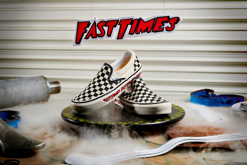 Vans 'Fast Times' Checkerboard Slip-On