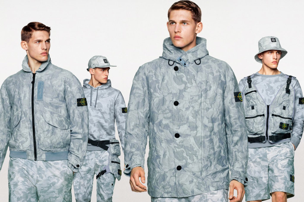 "Stone Island ""Big Loom Camo"" Printemps/Été 2020"