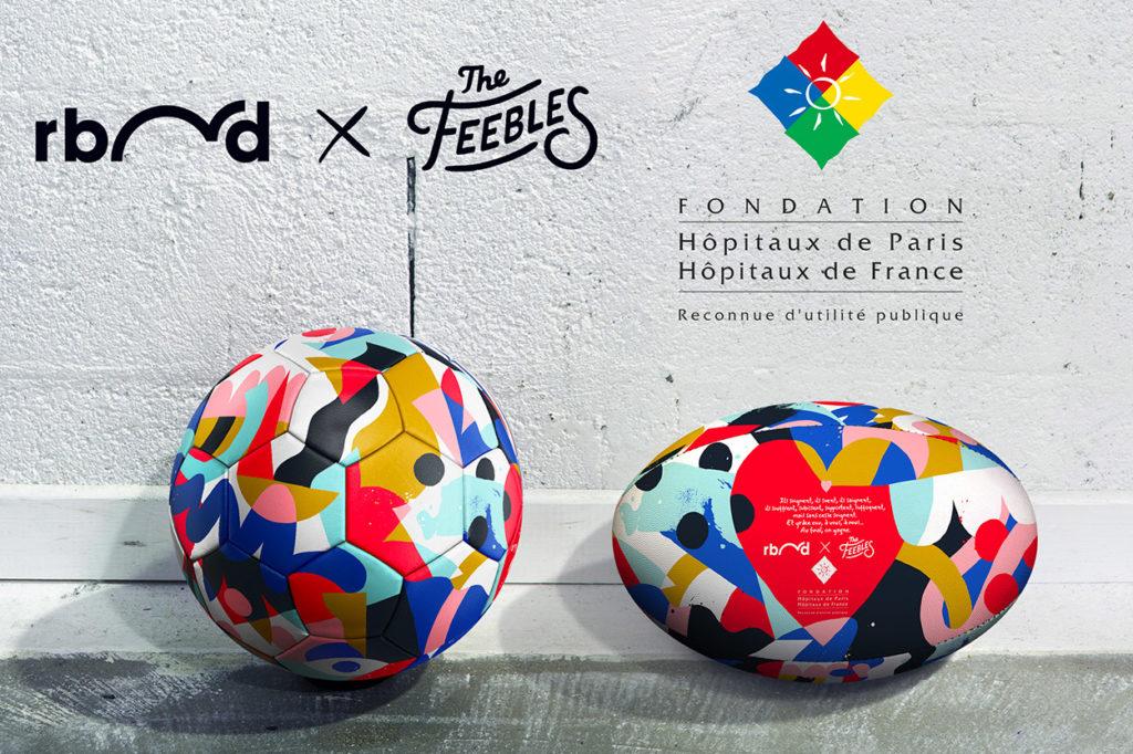 Ballons Rebond x The Feebles pour la Fondation Hôpitaux de Paris-Hôpitaux de France