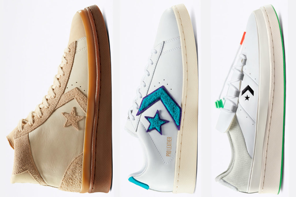 "Pack Converse Pro Leather ""Through the Decades"""