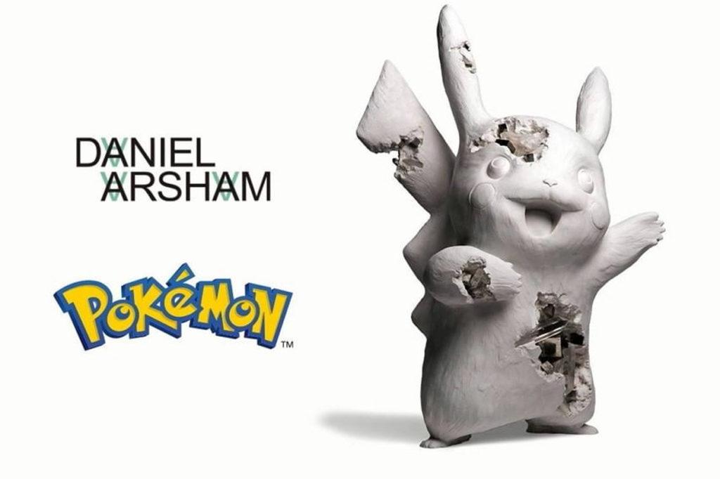 Daniel Arsham annonce une collaboration avec Pokémon et Uniqlo