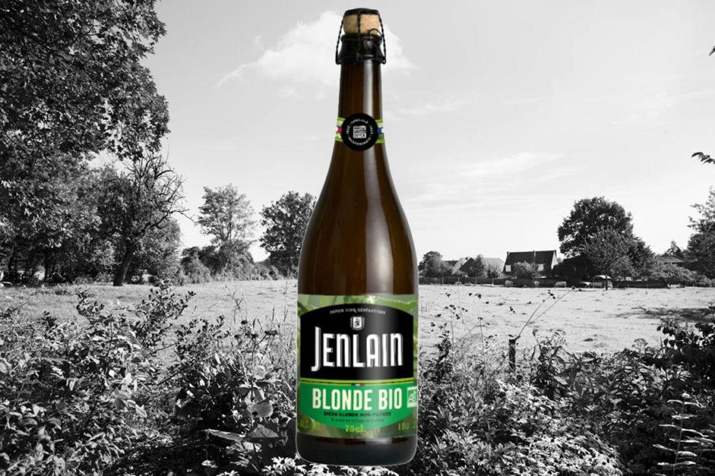 Jenlain lance sa bière blonde biologique