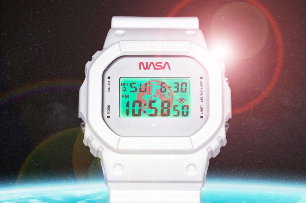 "NASA x G-Shock DW5600NASA20-7CR ""All Systems Go"""