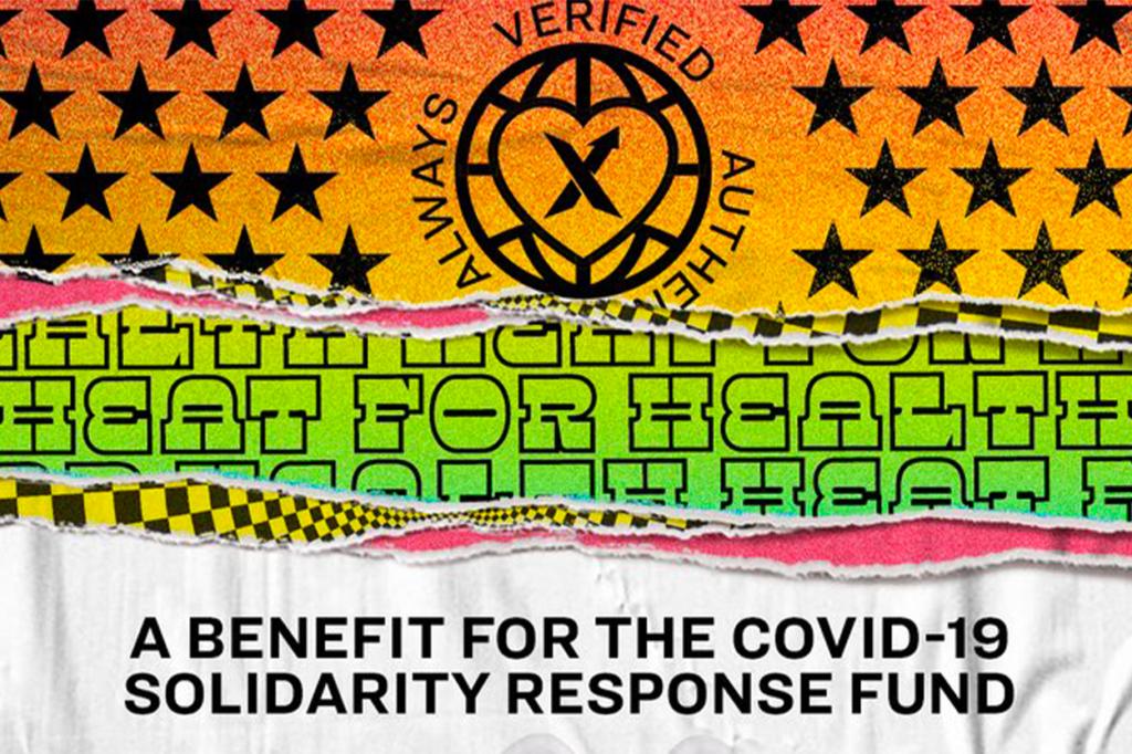 StockX lance une action solidaire pour soutenir l'OMS grâce aux dons de stars internationales