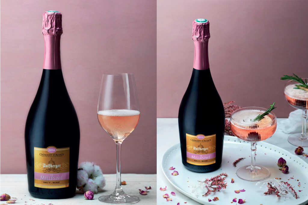 Wolfberger Crémant d'Alsace rosé « Le Millésimé » 2016