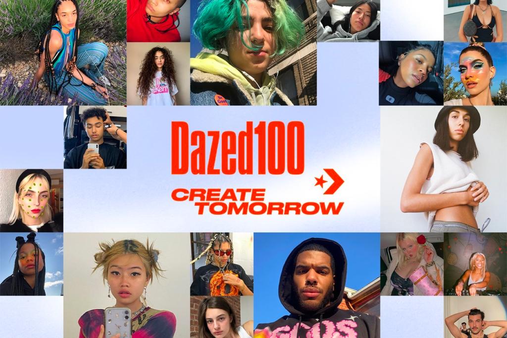 Dazed s'associe à Converse pour lancer Dazed 100 cette année
