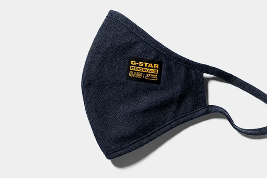 "G-Star RAW présente son masque ""RAW Protection"""