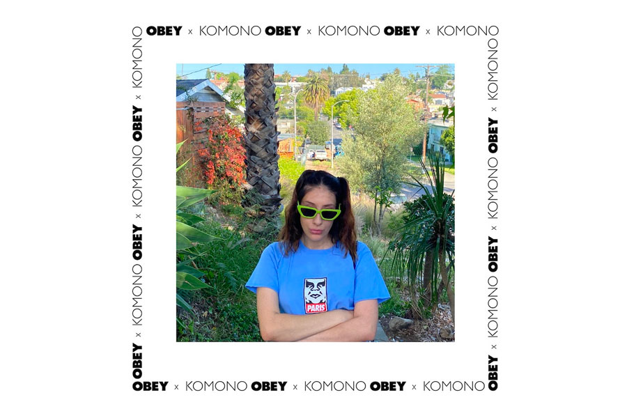 Collection OBEY x Komono