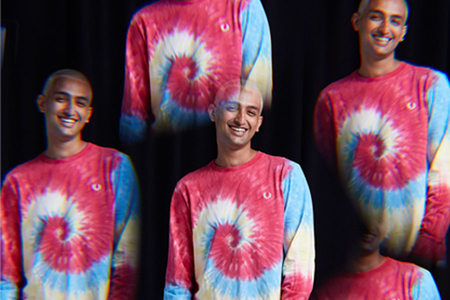 """Collection size? x Fred Perry """"Kaleidoscope"""""""