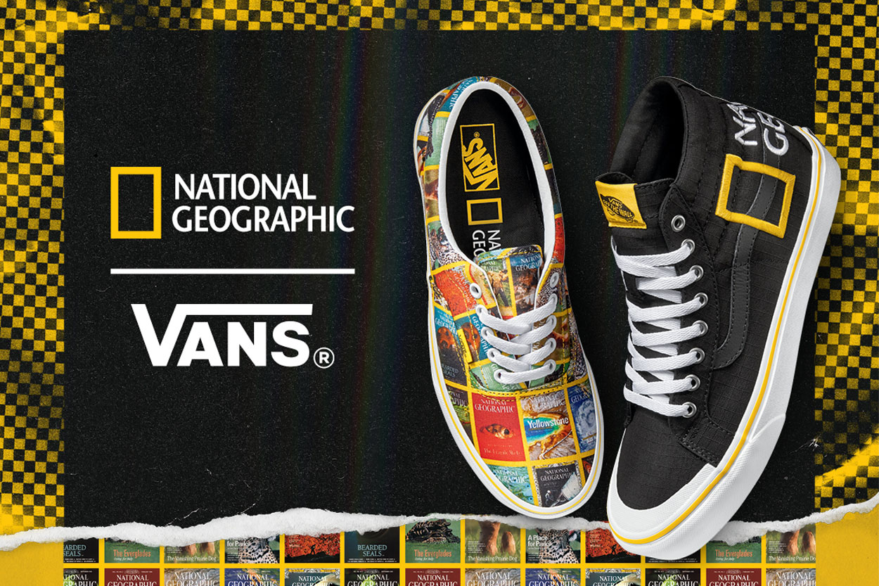 Collection Vans x National Geographic | Viacomit