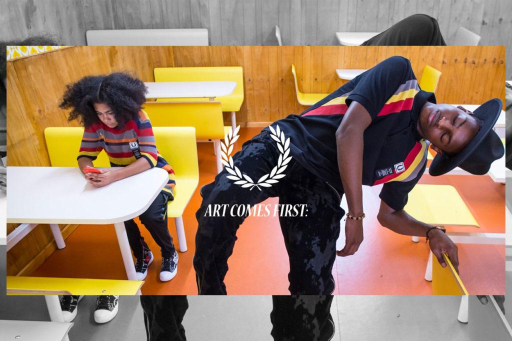 Art Comes First x Fred Perry Printemps/Été 2020