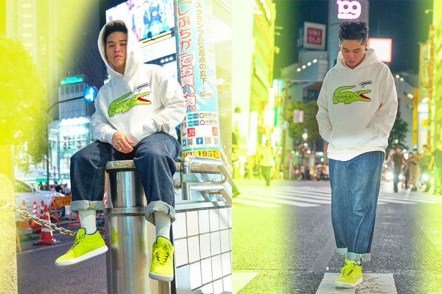 "Collection atmos x LACOSTE ""Street Tennis"""