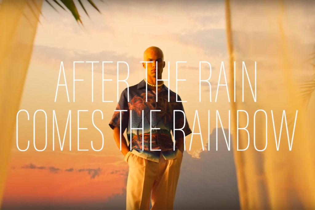 """Casablanca Printemps/Été 2021 """"After the Rain Comes the Rainbow"""""""