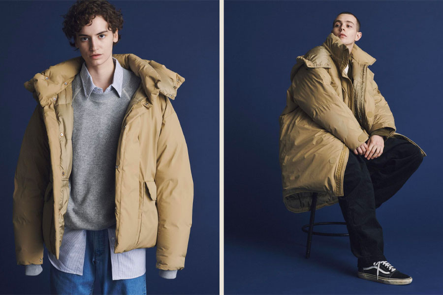 """Collection The North Face Purple Label Automne/Hiver 2020 """"WHISPER OF THE WIND"""""""