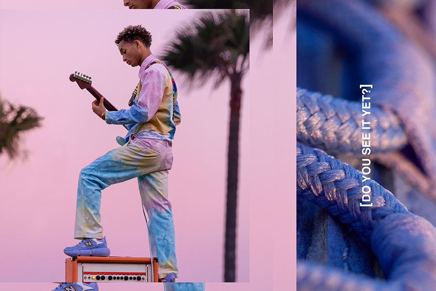"Jaden Smith x New Balance Vision Racer ""Wavy Baby Blue"""
