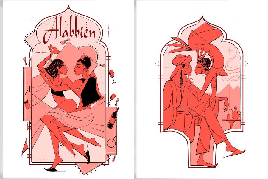 """L'Encrerie dévoile """"Faunecall"""", une série d'illustrations signées Léo Gavaggio"""