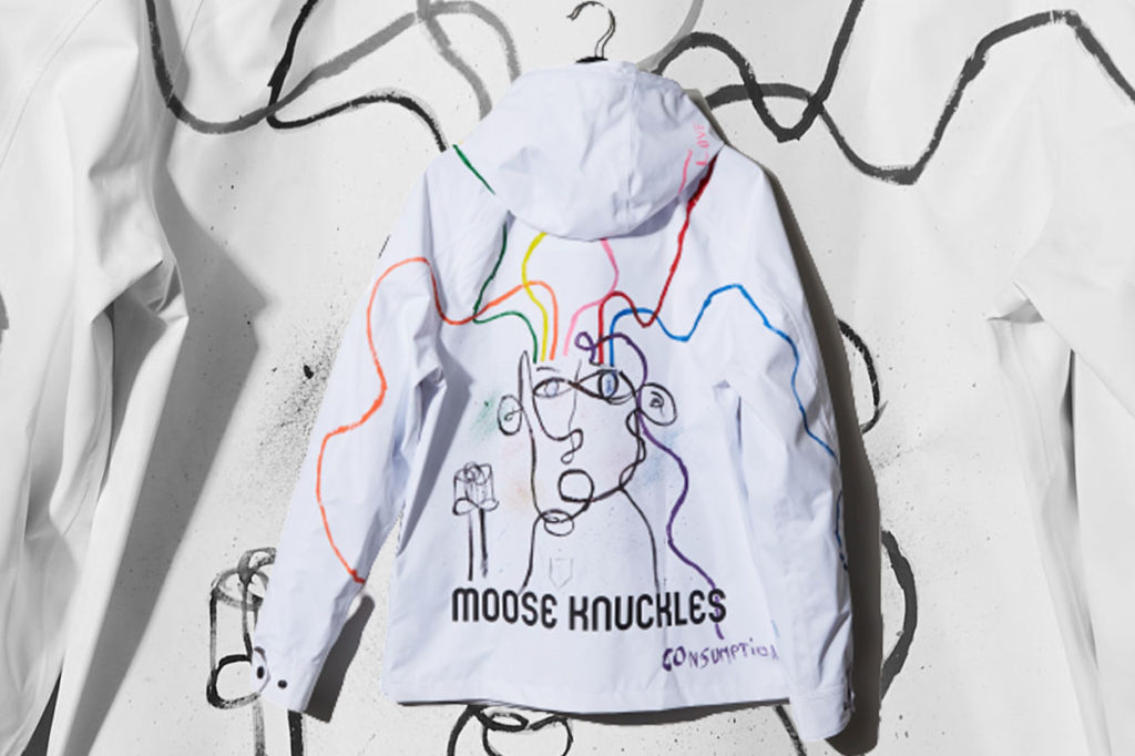 Seconde partie du projet MKGAF de Moose Knuckles